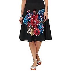 Phase Eight - Multi-coloured Bridget embellished skirt