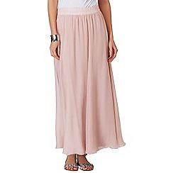 Phase Eight - Cornsilk Iona silk maxi skirt