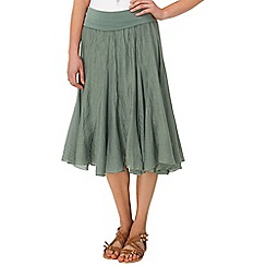 Phase Eight - Khaki natalia skirt