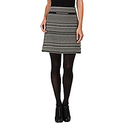Phase Eight - Black and Ivory camilla skirt