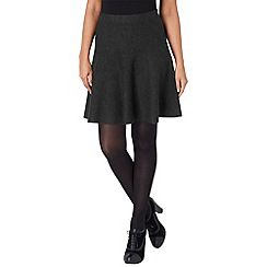 Phase Eight - Charcoal freja fit and flare skirt
