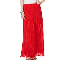 Phase Eight - Avery crinkle pleat maxi skirt