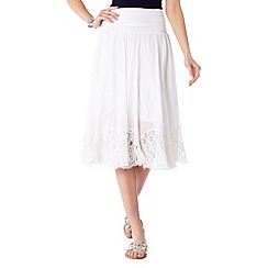Phase Eight - Margareta lace hem skirt