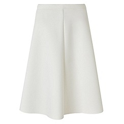 Phase Eight - Ivory sasha scuba skirt