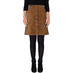 Phase Eight - Tamsin suede skirt