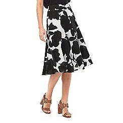 Phase Eight - Fleur Print Linen Skirt