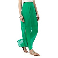 Phase Eight - Emerald Cosima Silk Maxi Skirt