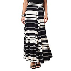 Phase Eight - Kat Stripe Jersey Maxi Skirt