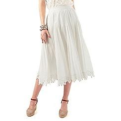 Phase Eight - Suri Battenberg Lace Hem Skirt
