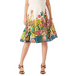 Phase Eight - (w) Adeline Print Cotton Skirt