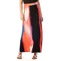 Phase Eight - Leona Brush Stroke Maxi Skirt