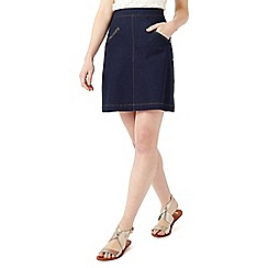 Phase Eight - Florrie Denim Zip Skirt