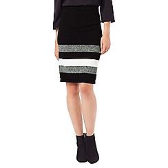 Phase Eight - Aida Stripe Hem Skirt