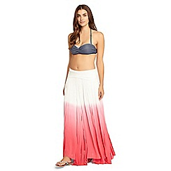 Phase Eight - Pink Natalia Ombre Maxi Skirt