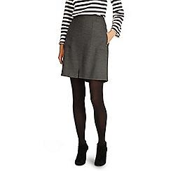 Phase Eight - Grey and Navy bernina pocket skirt