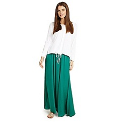 Phase Eight - Green Belinda maxi skirt