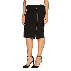 Studio 8 - Sizes 12-26 Black alana skirt