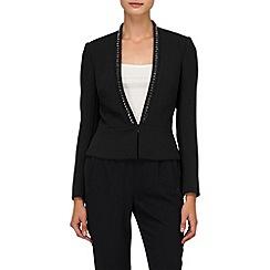 Phase Eight - Black tuxedo jacket