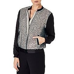 Phase Eight - Sequin bomber jacket
