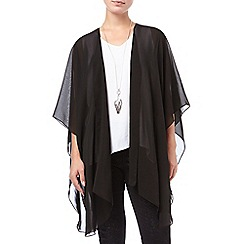 Phase Eight - Black 'Eniko' chiffon cape