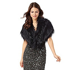 Phase Eight - Beaded Fur Cape