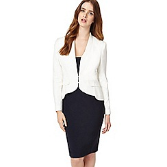 Phase Eight - Ivory elaina peplum jacket