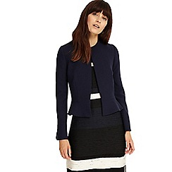 Phase Eight - Navy naomi peplum jacket