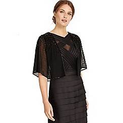 Phase Eight - Black lucy jewelled cape