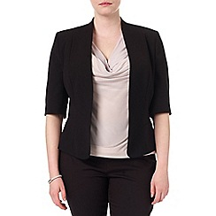 Studio 8 - Sizes 16-24 Black lexi jacket