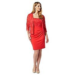 Studio 8 - Sizes 12-26 Red montana jacket