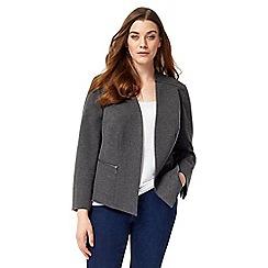 Studio 8 - Sizes 12-26 Grey juniper jacket