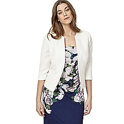 Studio 8 - Sizes 12-26 Ivory hannah jacket