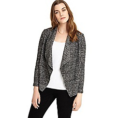 Studio 8 - Sizes 12-26 Charcoal polly jacket