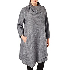 Studio 8 - Sizes 16-24 Silver wendy bellona coat