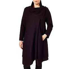 Studio 8 - Sizes 16-24 Oxblood wendy bellona coat