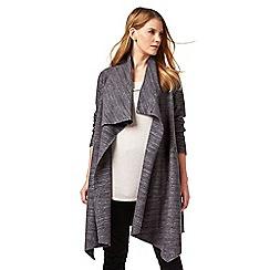 Studio 8 - Sizes 12-26 Charcoal wendy coat