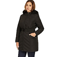 Studio 8 - Sizes 12-26 Black jamie puffer coat