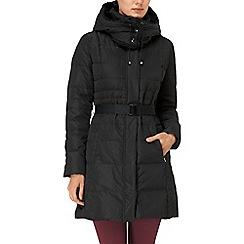 Phase Eight - Black freya padded coat