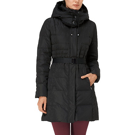 Phase Eight - Black freya padded coat