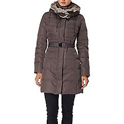 Phase Eight - Mink freya padded coat