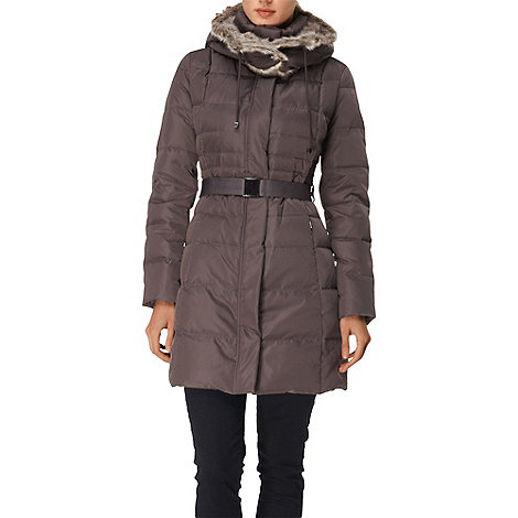 Phase Eight - Mink freya padded coat