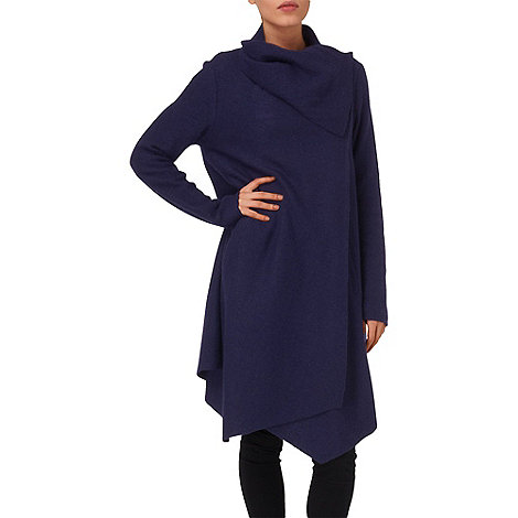 Phase Eight - Navy bellona waterfall coat
