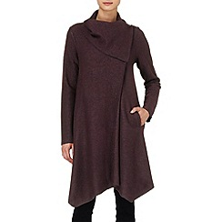 Phase Eight - Deep Wine bellona waterfall coat