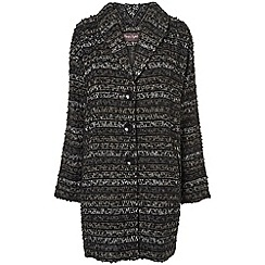 Phase Eight - Black and Grey ollie ombre coat