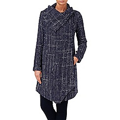 Phase Eight - Navy texture bellona coat
