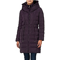 Phase Eight - Aubergine hattie hooded jacket