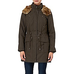 Phase Eight - Khaki diana parka coat