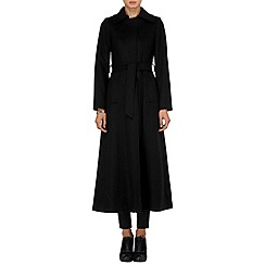 Phase Eight - Black eileen maxi coat