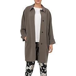 Phase Eight - Mushroom emilia drapey coat