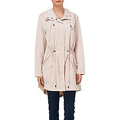Phase Eight - Soft pink fernanda parka coat